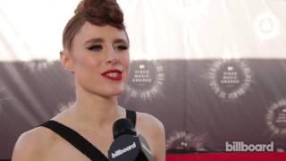 Kiesza on the MTV VMAs Red Carpet 2014