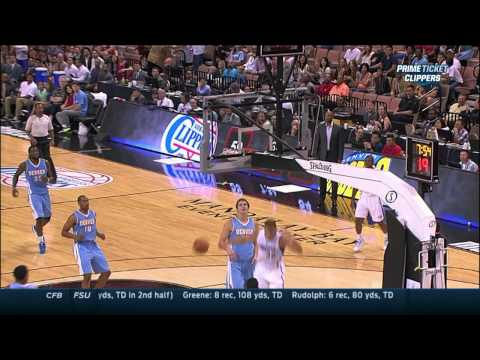 Shows - Check out Blake Griffin as he picks up a steal with one hand, goes through the legs and finishes the play with a lefty alley-oop slam. About the NBA: The NBA is the premier professional basketbal...