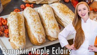Pumpkin Maple Eclairs by Tatyana's Everyday Food