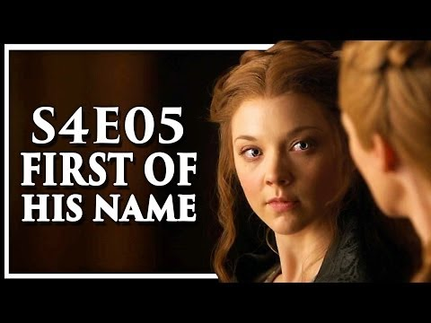 Game of Thrones Season 4 Episode 5 'First of His Name' Discussion and Review (S4E5)