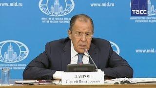 Лавров: армия РФ может обеспечить работу своих военных в Сирии без помощи других стран