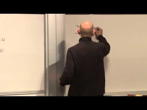 General Relativity - (November 26, 2012) Leonard Susskind derives the Einstein field equations of general relativity and demonstrates how they equate spacetime curvature as expre...