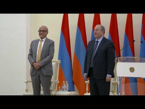 Armenian President's Award 2018