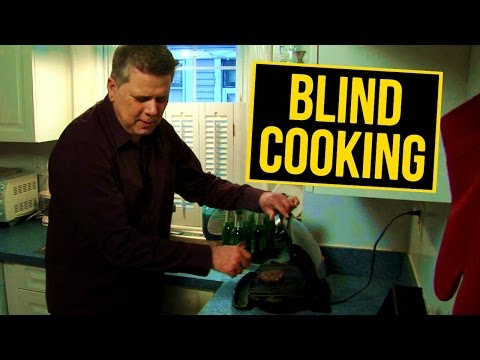 How A Blind Person Cooks