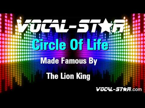 The Lion King - Circle Of Life (with vocals) (Karaoke Version) with Lyrics HD Vocal-Star Karaoke