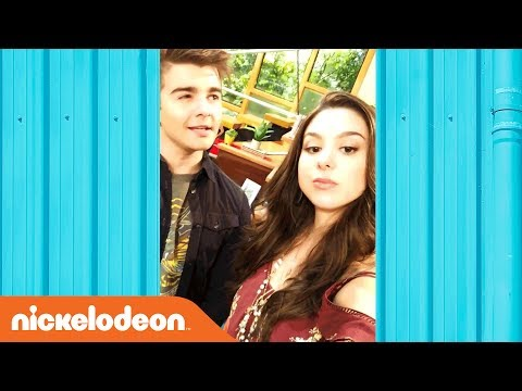'Kira Kosarin & Jack Griffo Celebrate 100th EP of The Thundermans!' Behind the Scenes | Nick