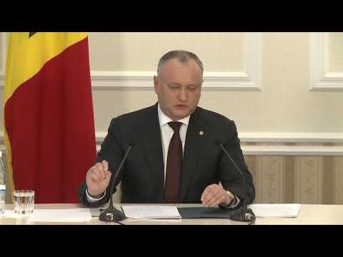 Astăzi, în cadrul unui dialog în format larg cu reprezentanții mass-media, Președintele Republicii Moldova, Igor Dodon a prezentat un raport la un an de mandat prezidențial