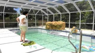 Filling the Pool Time Lapse - What Really Happened
