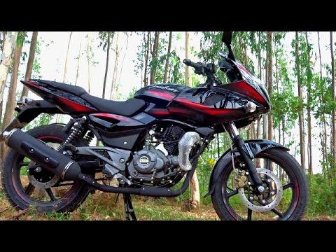 Video 2017 Bajaj Pulsar 220F DTSi BS4 Review, First Ride, Walkaround #Bikes@Dinos download in MP3, 3GP, MP4, WEBM, AVI, FLV January 2017