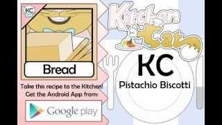KC Pistachio Biscotti YouTube video