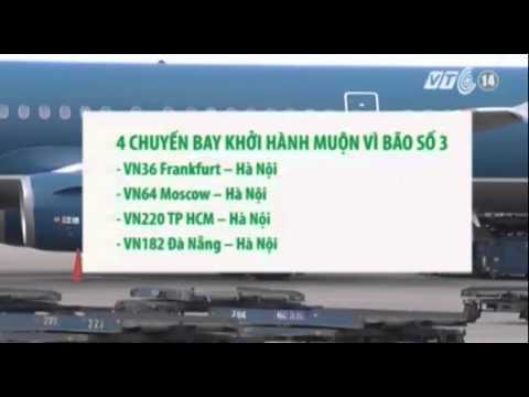 Hủy 4 chuyến bay đi/đến Hải Phòng vì bão số 3