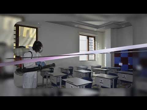 Okulumuz Dezenfekte Edilmektedir!