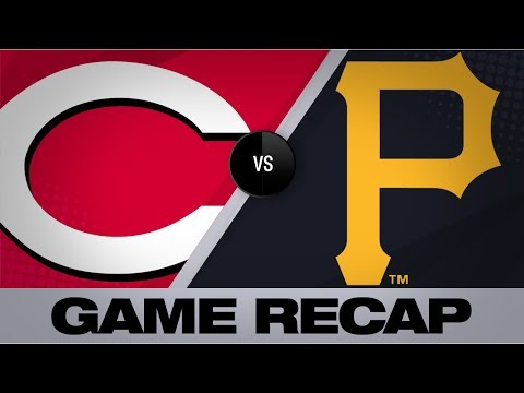 Video: Reyes' walkoff single lifts Pirates in 9th | Reds-Pirates Game Highlights 8/23/19