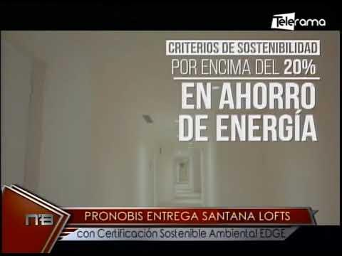 Pronobis entrega Santana Lofts con certificación sostenible ambiental EDGE