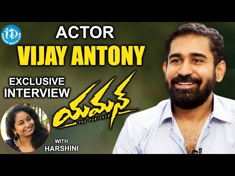 Actor Vijay Antony Exclusive Interview