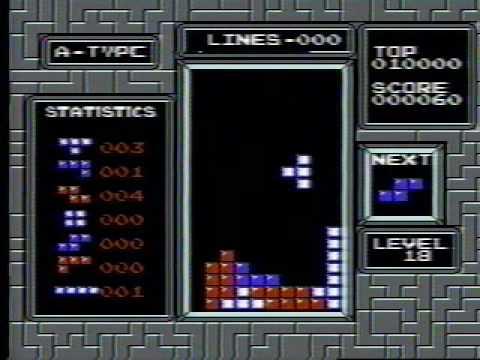 NES Tetris - 999,999 (Official World Record)