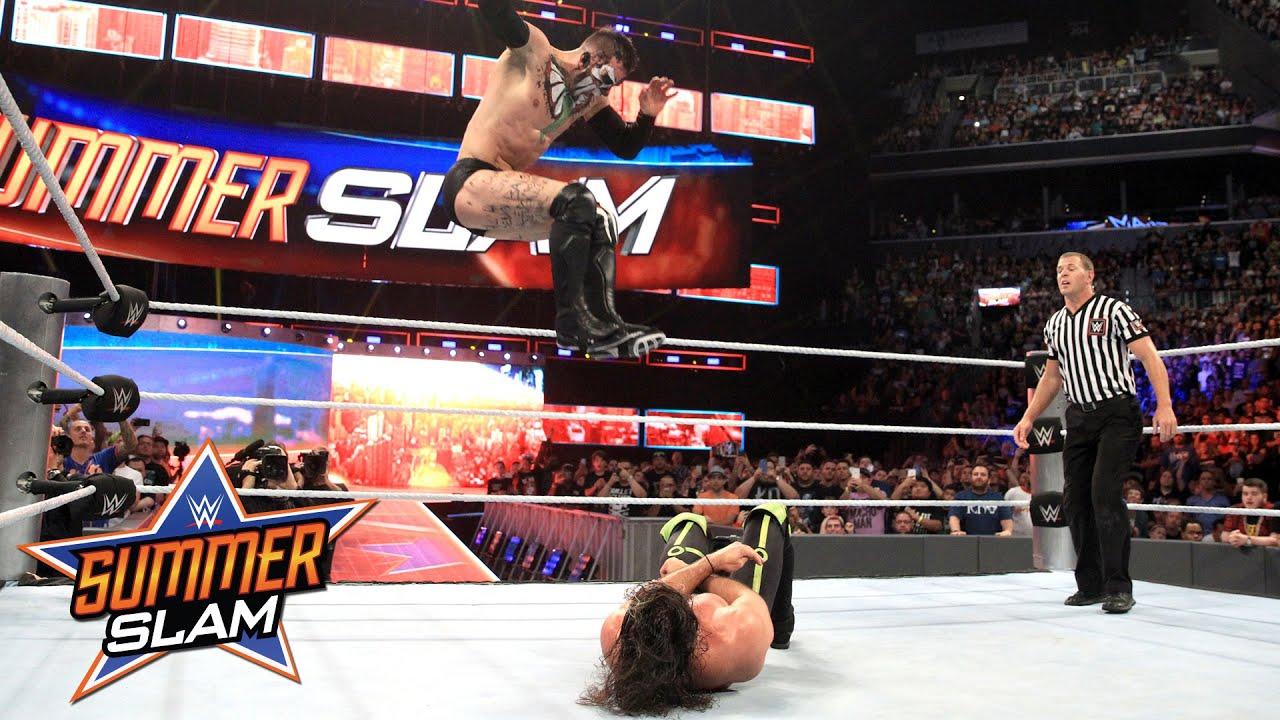 Finn Bálor vs. Seth Rollins – WWE Universal Title Match: SummerSlam 2016, only on WWE Network