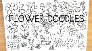 Spring Flower Doodles | Doodle with Me