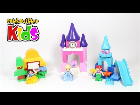 Vidéo LEGO Duplo 10596 : Collection Disney Princesse