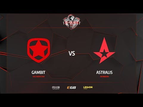 Gambit vs Astralis, map 3 train, PGL Major Kraków 2017