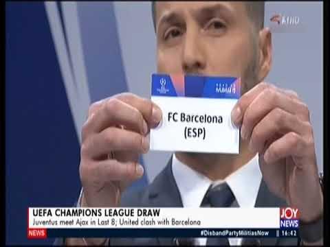 UEFA Champions League Draw - The Pulse Sports on JoyNews (15-3-19)