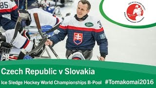 Tomakomai Japan  City pictures : Czech Republic v Slovakia| Prelim | 2016 Ice Sledge Hockey World Championships B-Pool, Tomakomai