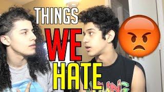 Download Lagu THINGS WE HATE Mp3
