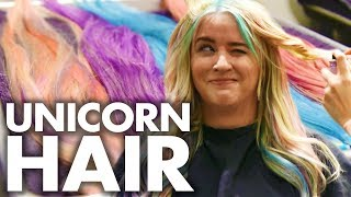 Video Lily's Pastel Unicorn Hair for COACHELLA! (Beauty Trippin) MP3, 3GP, MP4, WEBM, AVI, FLV Juli 2018