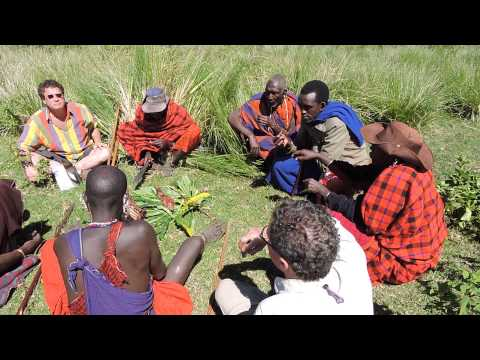 #Maasai explains why they drink the blood of cows as part of their diet