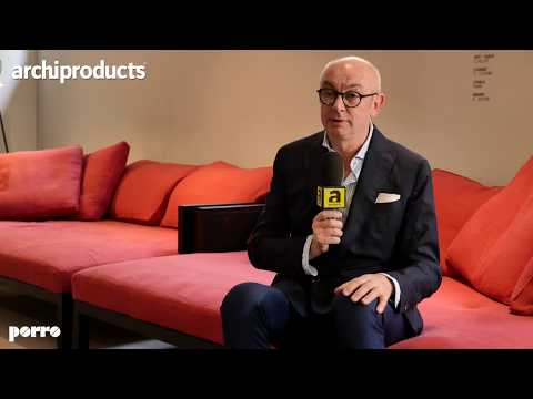 Porro - Salone del Mobile 2018 - Showroom PorroDurini15 - intervista a Piero Lissoni