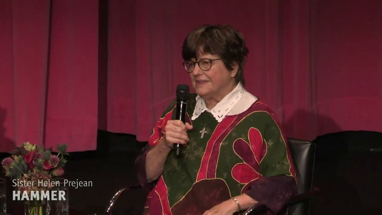 Sister Helen Prejean and Tim Robbins at the Hammer Museum