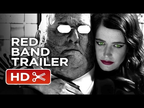 Sin City: A Dame To Kill For Comic-Con Red Band Trailer (2014) – Eva Green Action Thriller HD