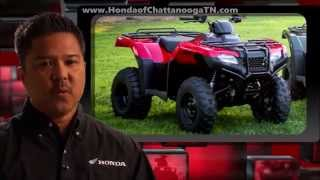 8. 2015 Rancher 420 AT IRS Review of Specs + New Changes - Honda of Chattanooga TN ATV Dealer
