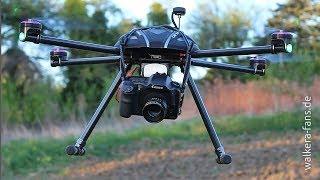 Walkera QR X800 DSLR Flight
