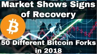 Crypto News | Market Shows Signs of Recovery. 50 Different Bitcoin Forks In 2018!