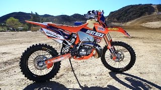 8. Project KTM EXC 300 2 Stroke Rebuild - Dirt Bike Magazine