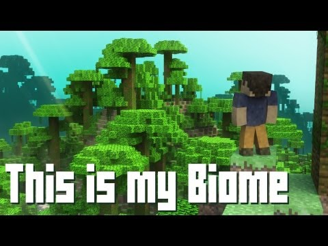 """This is my Biome"" – A Minecraft Parody of Payphone (Music Video)"
