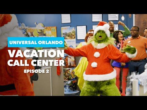 Vacation Call Center Ep 2: The Grinch vs Santa