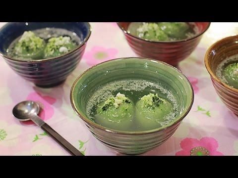 Bật mí cách làm bánh trôi trà xanh ngon tuyệt cú mèo ^^