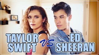 Video Taylor Swift VS Ed Sheeran MASHUP!! 20 Songs | ft. Alyson Stoner & Sam Tsui MP3, 3GP, MP4, WEBM, AVI, FLV April 2018