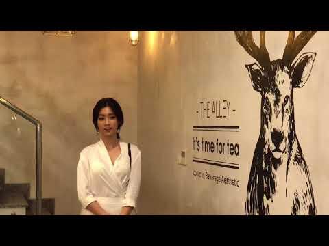 Hoa Hậu Đỗ Mỹ Linh xuất hiện chúc mừng Diệp Lâm Anh khai trương trà sữa The Alley tại Hà Nội - Thời lượng: 3:39.