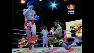 Khmer Sports - Buakaw Por. Pramuk (Muay Thai) vs Harlee Avison (72kg) 3.27.2013