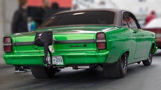 Coyote Powered Fairlane is a Twin Turbo BEAST! by 1320Video