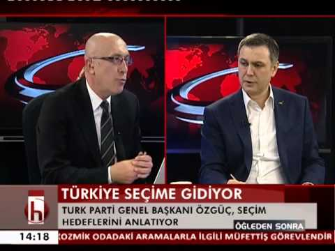TURK PARTİ Genel Başkanı Ahmet Eyüp Özgüç, Halk TV'de