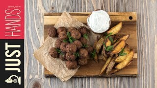 Meatballs & Fries | Akis Kitchen by Akis Kitchen