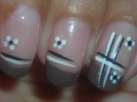 nail art - neutral