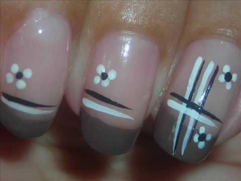 nail art - neutral
