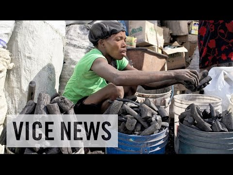 Lake - Subscribe to VICE News here: http://bit.ly/Subscribe-to-VICE-News In response to Lake Enriquillo's rapid rise and expansion, a black-market charcoal trade has flourished, and Haiti is the...