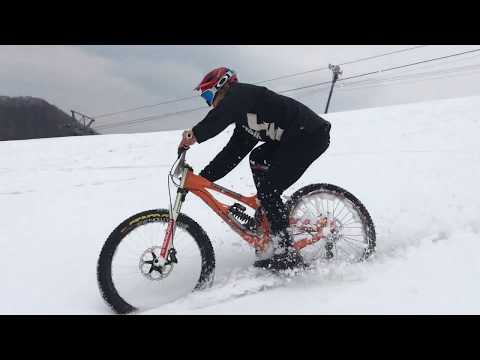 2018 0408 Snow Riding in ban K (видео)