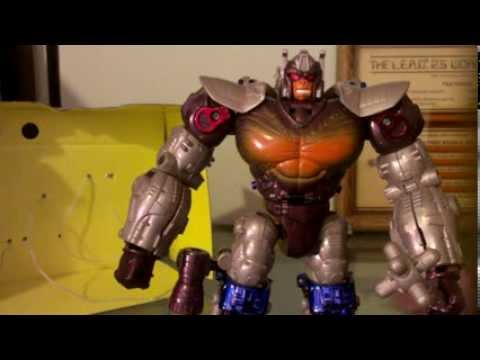 A not so Awesome mini unboxing of Beast Wars Transmetals Optimus Primal